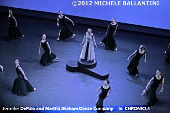 MARTHA GRAHAM DANCE COMPANY - Michele Ballantini